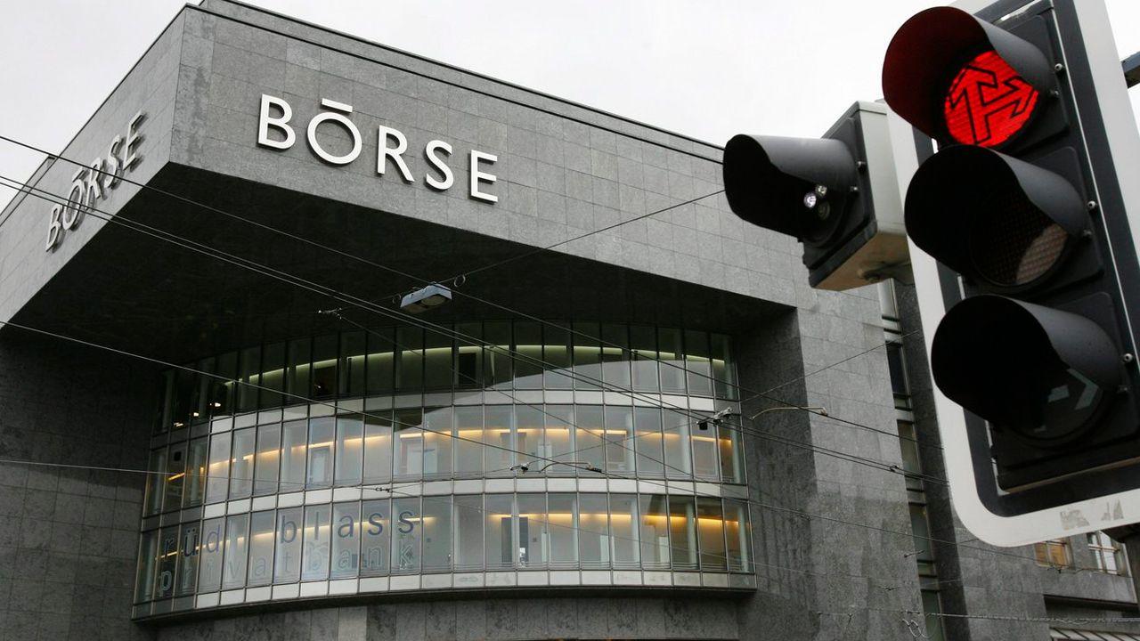 La bâtiment de la bourse suisse à Zurich. [Steffen Schmid - Keystone]