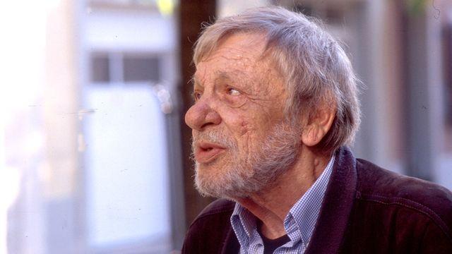 Emile Gardaz en 2005. [Claude Schauli - RTS]