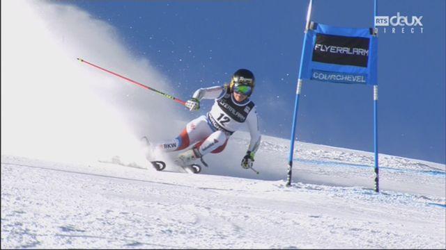Courchevel (FRA), slalom dames, 1re manche: Lara Gut (SUI) [RTS]