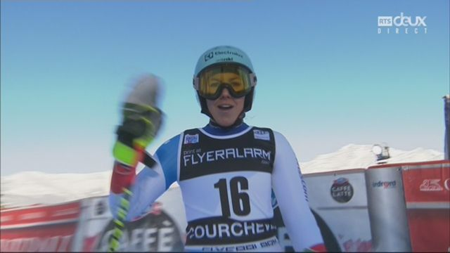 Courchevel (FRA), slalom géant dames, 2e manche: Wendy Holdener (SUI) [RTS]