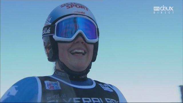 Courchevel (FRA), slalom géant dames, 2e manche: Melanie Meillard (SUI) [RTS]