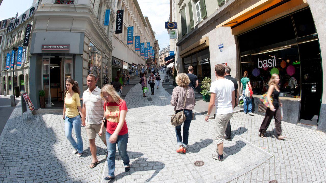 Le harcèlement de rue existe dans les rues lausannoises. [Laurent Gilliéron - Keystone]
