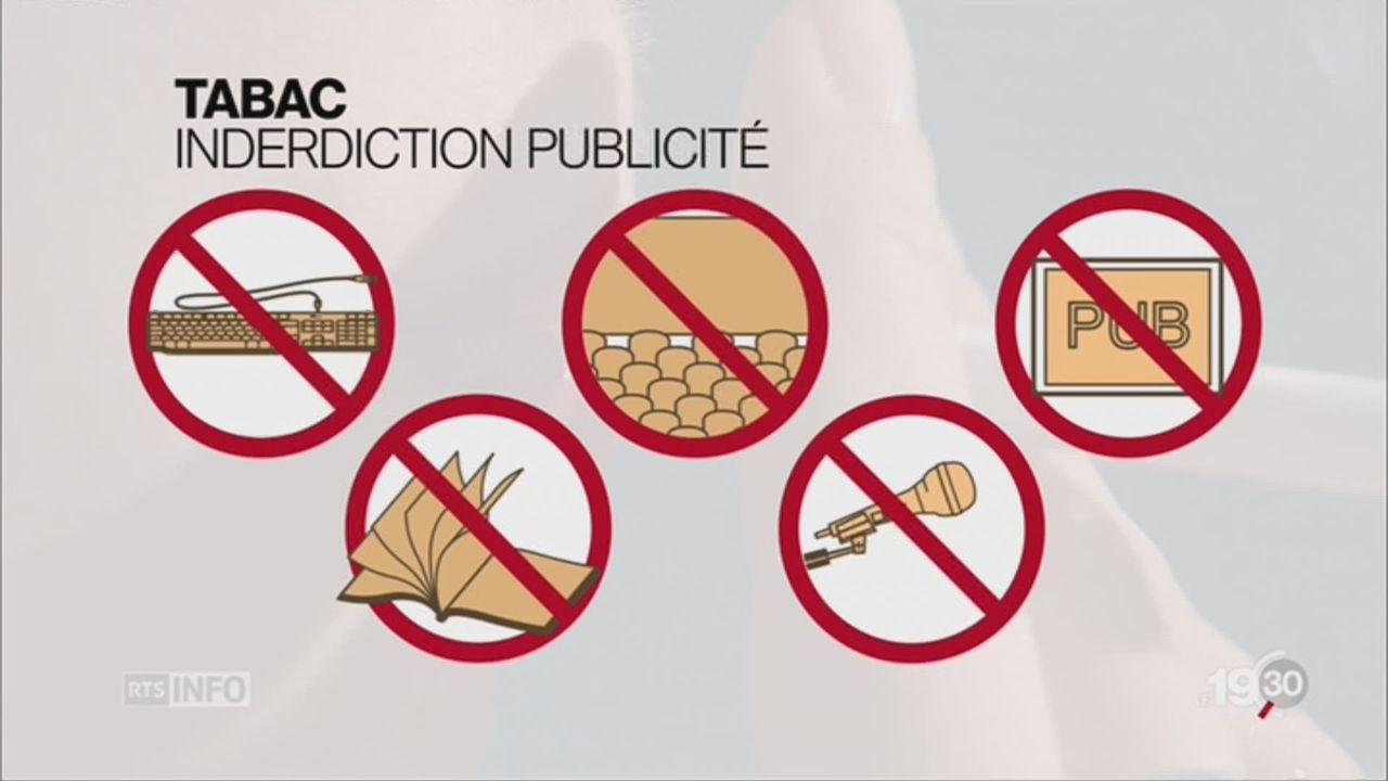 Loi tabac: pas assez dure pour les professionnels de la santé [RTS]