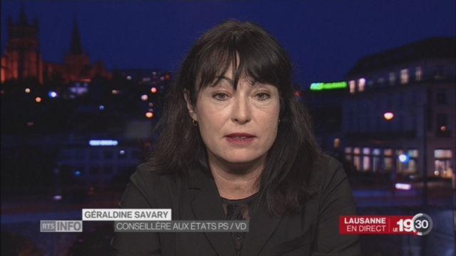 Débat sur la burqa: entretien avec Géraldine Savary, conseillère aux Etats (PS-VD) [RTS]