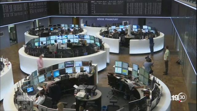 Bras de fer avec l'UE: l'économie suisse est menacée [RTS]