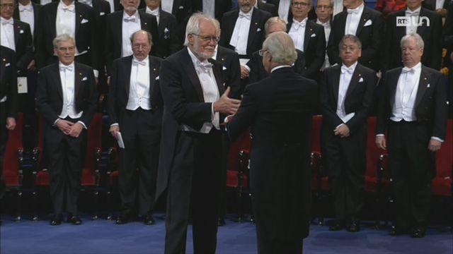 Jacques Dubochet, Prix Nobel de chimie 2017 [RTS]