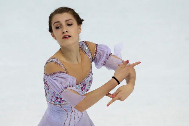 Alexia Paganini représentera la Suisse en Corée du Sud. [Matthias Schrader - Keystone]