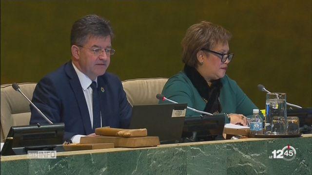 L'assemblée générale de l'ONU condamne la reconnaissance de Jérusalem comme capitale d'Israël [RTS]
