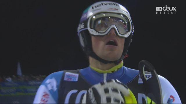 Madonna Di Campiglio (ITA), slalom messieurs, 2e manche: Daniel Yule (SUI) [RTS]