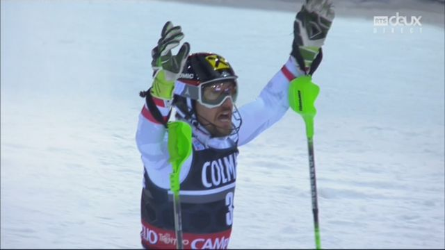 Madonna Di Campiglio (ITA), slalom messieurs, 2e manche: Marcel Hirscher (AUT) [RTS]