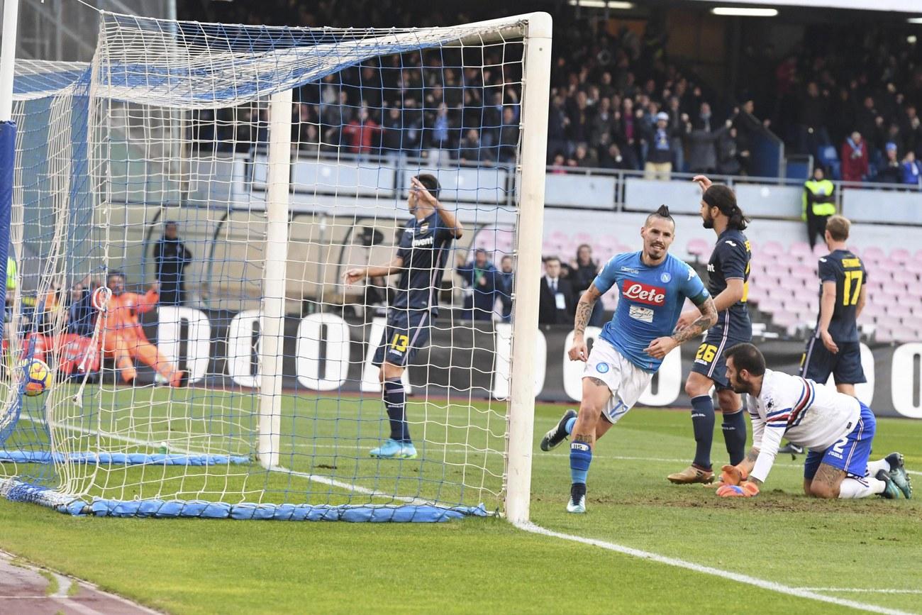 Hamsik dépasse Maradona comme meilleur buteur de Naples