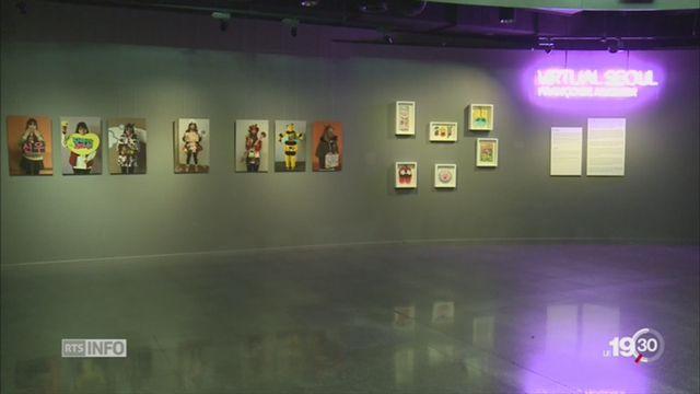 JO 2018: exposition sur la Corée du Sud au Musée olympique de Lausanne [RTS]