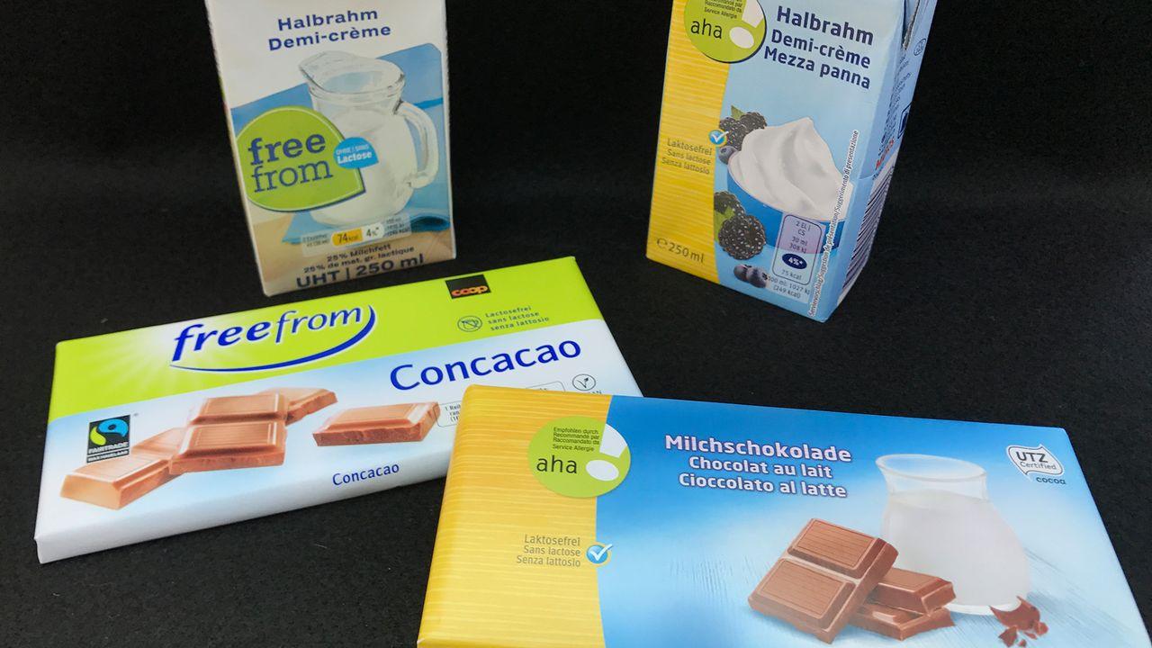 Les produits sans lactose se multiplient. [RTS]