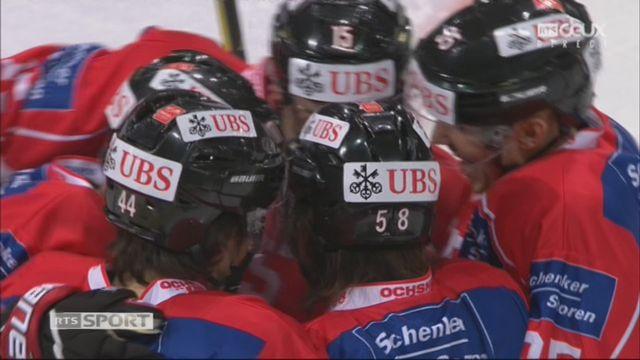 Groupe Torriani, Team Suisse – Dinamo Riga (1-0): 2e Blum [RTS]