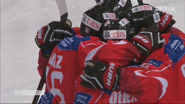 Groupe Torriani, Team Suisse – Dinamo Riga (2-0): 4e Diaz [RTS]