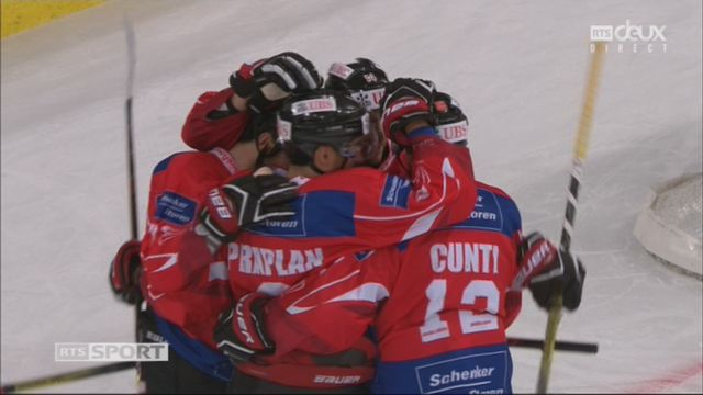 Groupe Torriani, Team Suisse – Dinamo Riga (3-0): 13e Brunner [RTS]