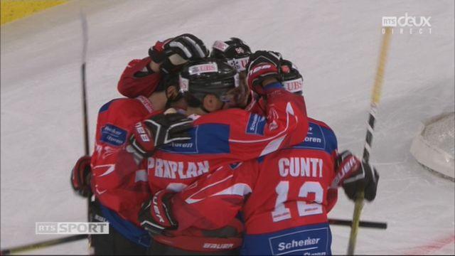 Groupe Torriani, Team Suisse – Dinamo Riga (3-0): 13e Brunner [RTS]