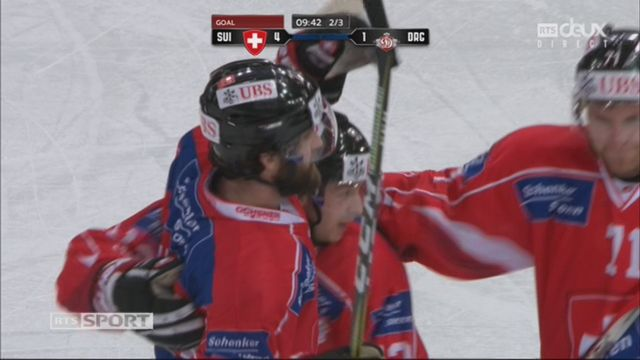 Groupe Torriani, Team Suisse – Dinamo Riga (4-1): 31e Schlumpf [RTS]