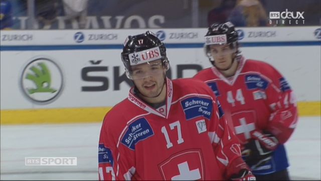 Groupe Torriani, Team Suisse – Dinamo Riga (5-1): 50e Fazzini [RTS]