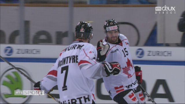 Groupe Cattini, Mountfield HK – Team Canada (3-5): 59e Parenteau [RTS]