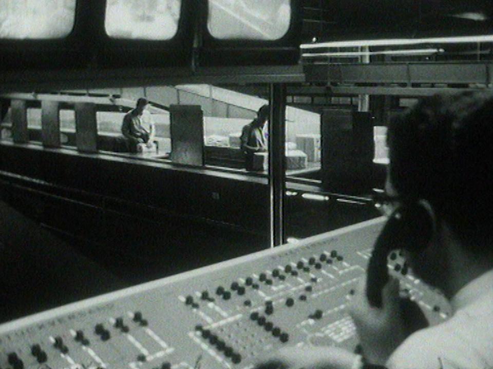 Le centre de tri ultramoderne de la Chanzenpost de Berne, 1968. [RTS]