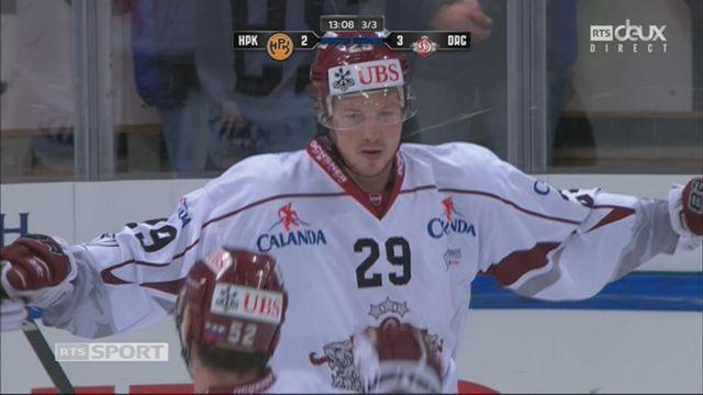 Groupe Torriani, HPK – Dinamo Riga (2-3): 47e Kristo [RTS]