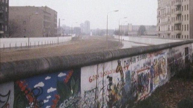 Berlin, quelques mois avant la chute du Mur. [RTS]