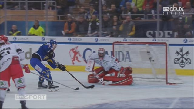 Groupe Cattini, HC Davos – Mountfield HK (4-0): 34e Buck [RTS]