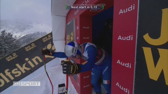 Bormio (ITA), descente hommes: Dominik Paris (ITA) remporte la course [RTS]