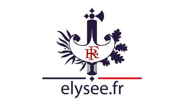 Le blason de l'Elysée. [Elysee.fr]