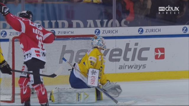 Groupe Cattini, Team Canada - HC Davos (3-1):  39e, Z. Boychuk [RTS]
