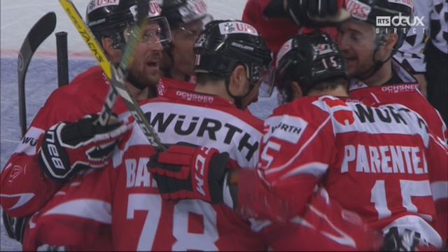 Groupe Cattini, Team Canada - HC Davos (4-1): 56e, P.-A. Parenteau [RTS]