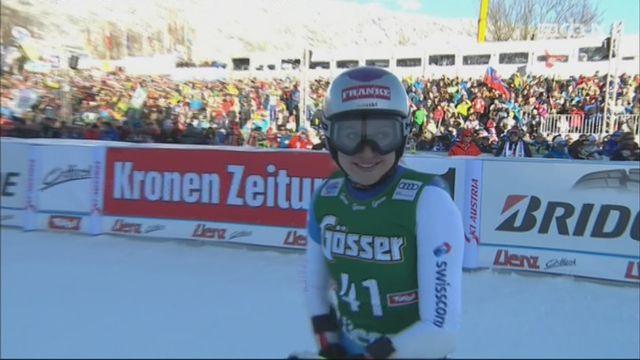 Lienz (AUT), géant dames, 2e manche: Vanessa Kasper (SUI) [RTS]