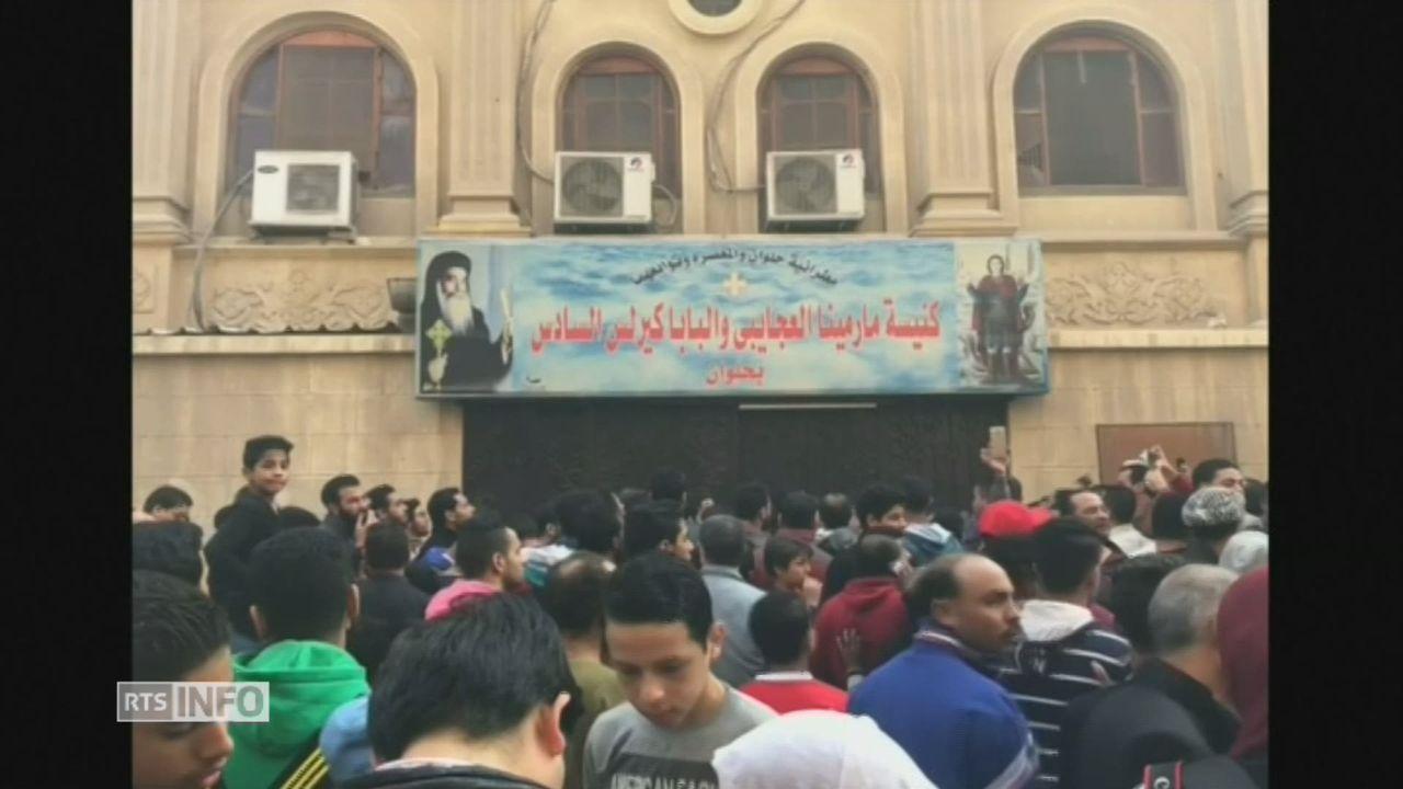 Attaque contre une église copte en Egypte [RTS]