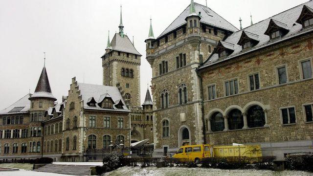 Le musée national suisse situé à Zurich  [Steffen Schmidt - Keystone]