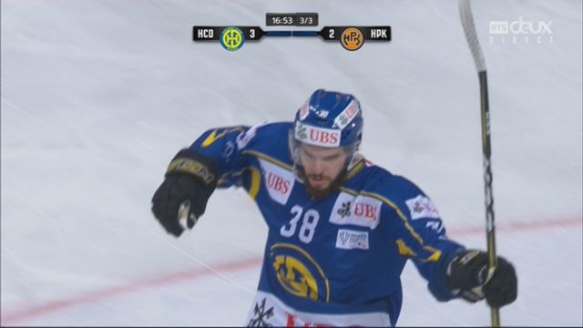 1-4 finale, HC Davos - Hämeenlinna (4-2): 44e, J. Morin [RTS]