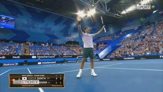 Japon - Suisse, Sugita - Federer (4-6, 3-6) [RTS]