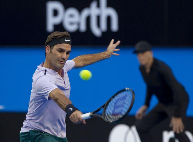 Federer a fait le travail lors de son premier match. [Tony Ashby - AFP]
