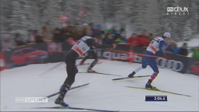 Tour de ski, Lenzerheide (SUI), sprint 1.5 km messieurs: les Suisses échouent en demi-finale [RTS]