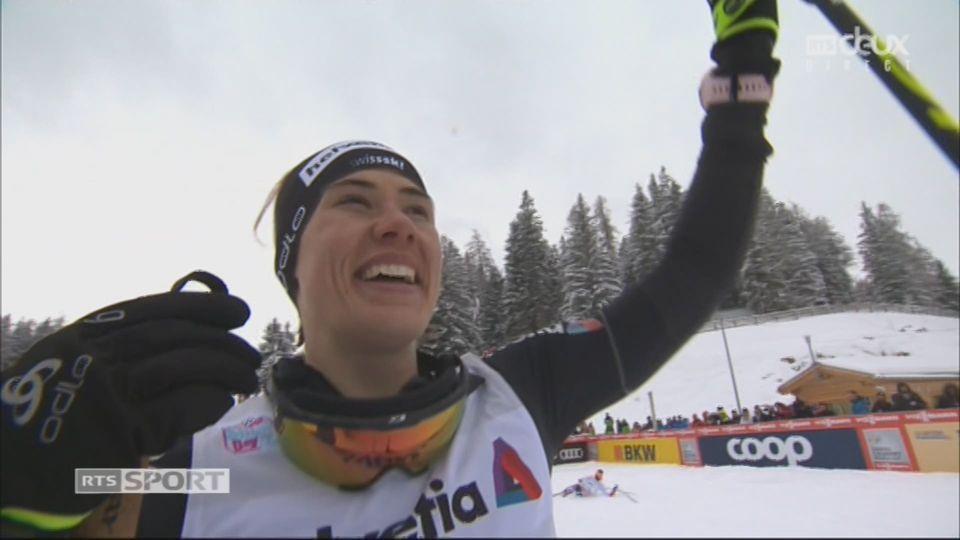 Tour de ski, Lenzerheide (SUI), sprint 1.5 km dames: Laurien Van Der Graaff (SUI) s'impose à la maison ! [RTS]