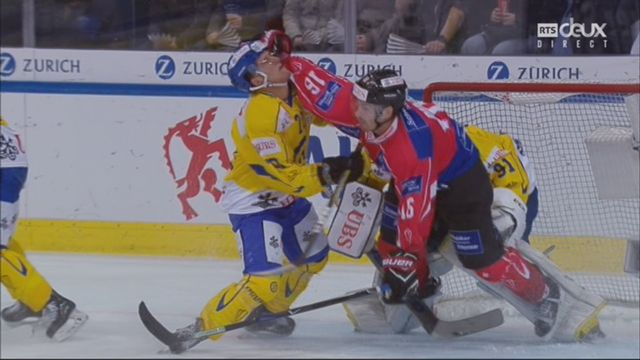 Demi-finale, Team Suisse - HC Davos (1-0): 9e, D. Hollenstein [RTS]