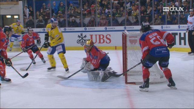 Demi-finale, Team Suisse - HC Davos (1-1): 9e, R. Kousal [RTS]