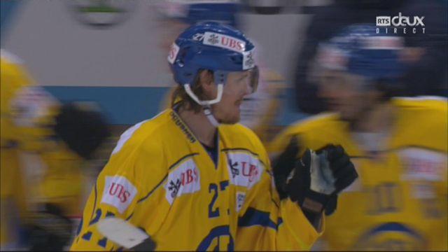 Demi-finale, Team Suisse - HC Davos (2-3): 36e, M. Nygren [RTS]