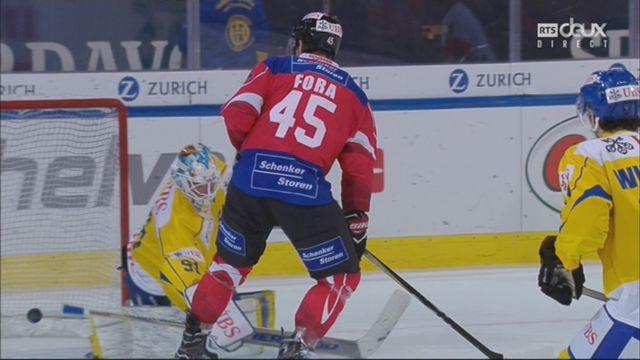 Demi-finale, Team Suisse - HC Davos (3-3): 36e, F. Herzog [RTS]