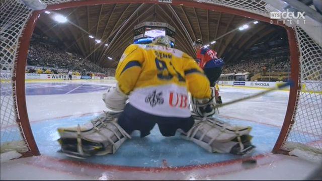 Demi-finale, Team Suisse - HC Davos (5-3): 41e, E. Blum [RTS]