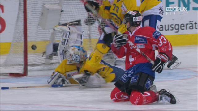 Demi-finale, Team Suisse - HC Davos (7-3): 44e, T. Richard [RTS]