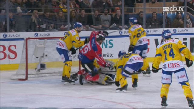 Demi-finale, Team Suisse - HC Davos (6-3): 44e, R. Schäppi [RTS]