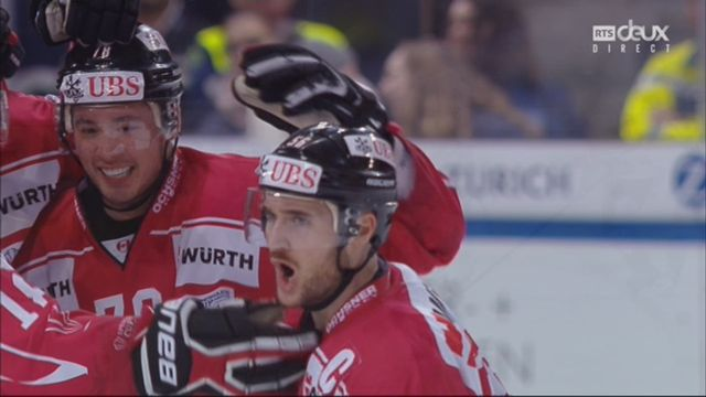 Coupe Spengler, finale: Canada - Suisse 2-0, 32e Maxim Noreau [RTS]