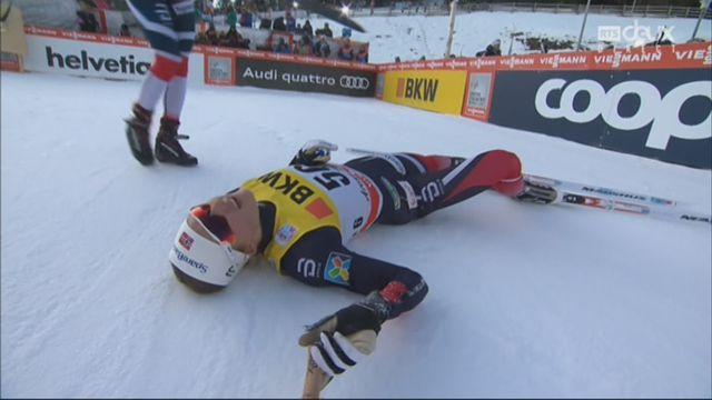 Tour de ski, 10 km: Ingvild Flugstad Oestberg (NOR) s'impose devant sa compatriote Heidi Weng (NOR) [RTS]