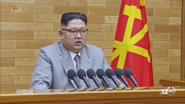 Corée du Nord: Kim Jong-Un affirme disposer du bouton nucléaire sur son bureau [RTS]